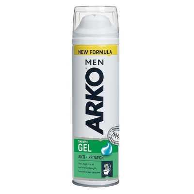 Вы можете заказать Arko Гель для бритья Anti-Irritation без предоплат прямо сейчас